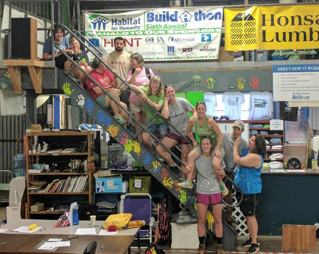 Honolulu Habitat for Humanity ReStore Staff and Volunteers.
